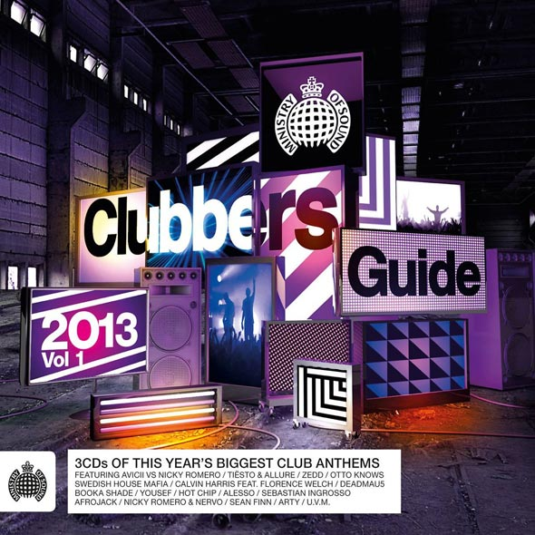 Ministry of Sound-Clubbers Guide 2013,Vol.1