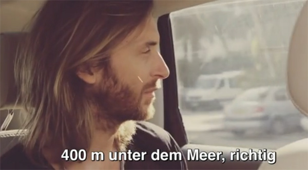 David Guetta - A Party 424 Meters Under The Sea (Doku)