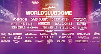 BigCityBeats World Club Dome 2015: Line Up