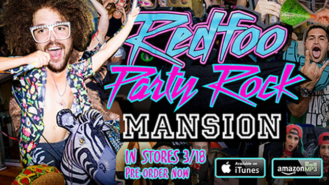 Redfoo - Party Rock Mansion » [Album Tracklist & Review]