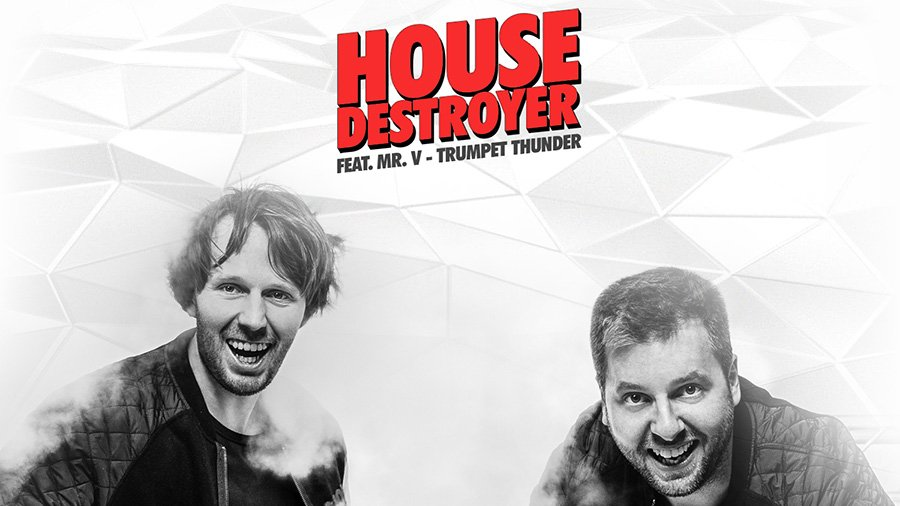 Housedestroyer feat. Mr. V - Trumpet Thunder