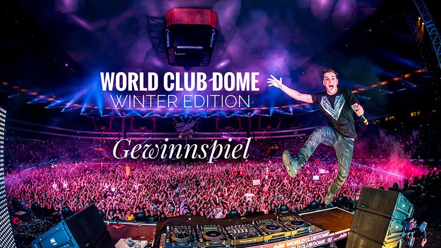 WORLD CLUB DOME WINTER EDITION: Gewinnspiel
