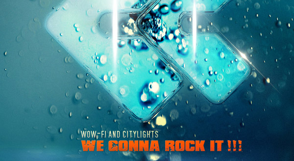 Wow-Fi and CityLights - We Gonna Rock It