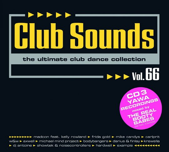 Club Sounds Vol.66 Tracklist