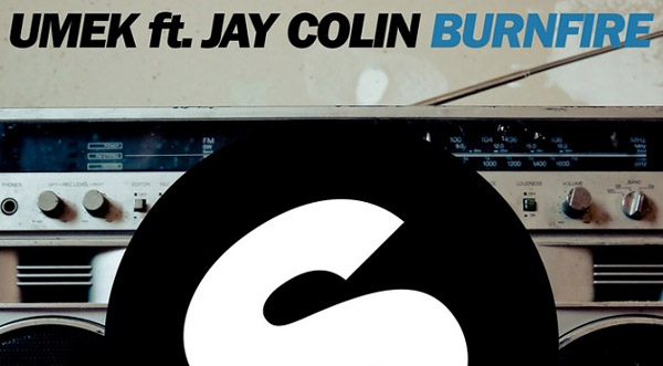 UMEK Ft Jay Colin - Burnfire
