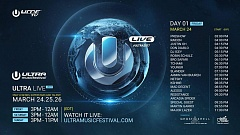 Ultra Music Festival Miami 2017 -  Livestream