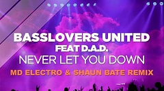 Basslovers United Feat D.A.D. - Never Let You Down
