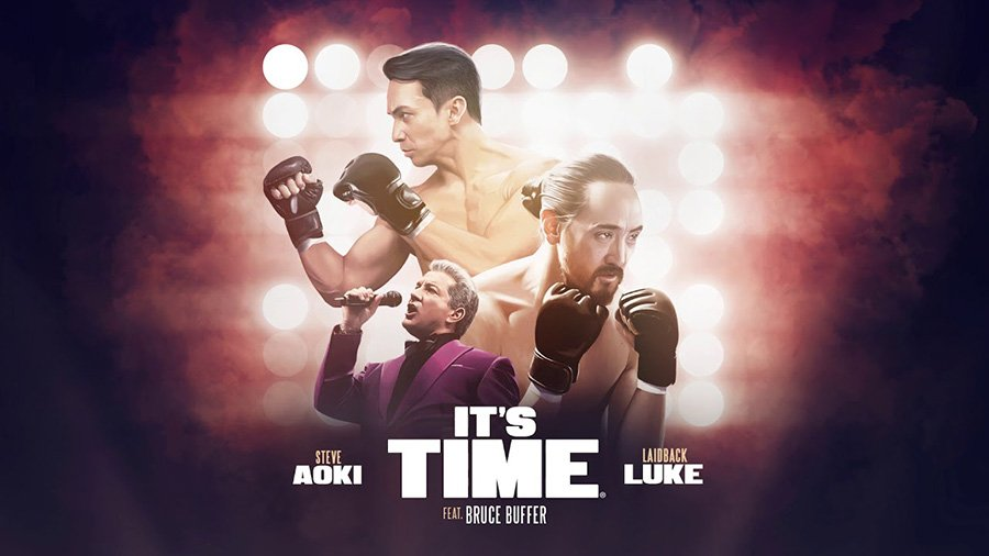 Steve Aoki & Laidback Luke - It's Time (ft. Bruce Buffer)