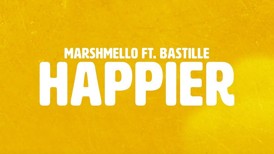 Marshmello feat. Bastille - Happier