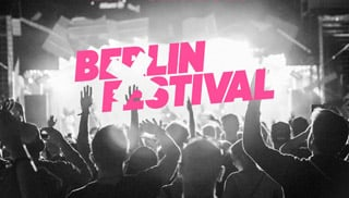 Berlin Festival: Line Up Phase 1