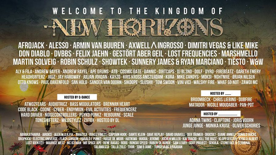 new horizons festival 2017 line up infos. Black Bedroom Furniture Sets. Home Design Ideas
