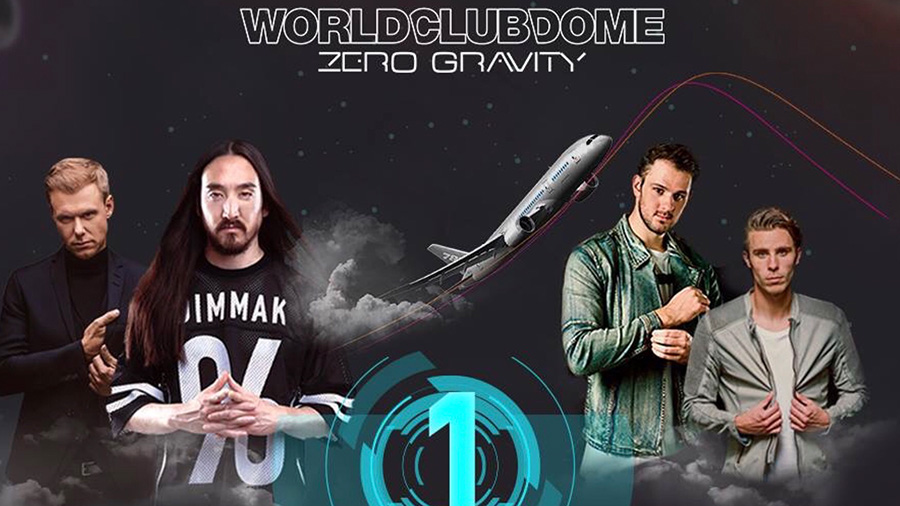 WORLD CLUB DOME Zero Gravity: Der Countdown läuft!