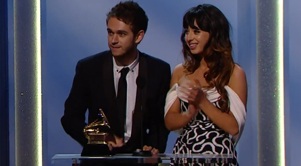 Zedd feat. Foxes - Clarity Grammy