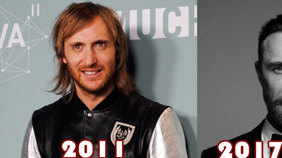 David Guetta: neuer Look