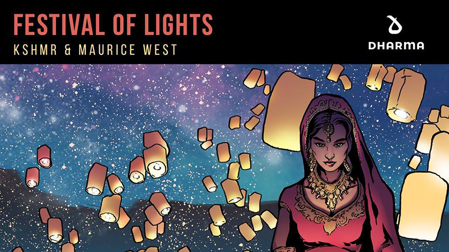KSHMR Maurice West - Festival Of Lights