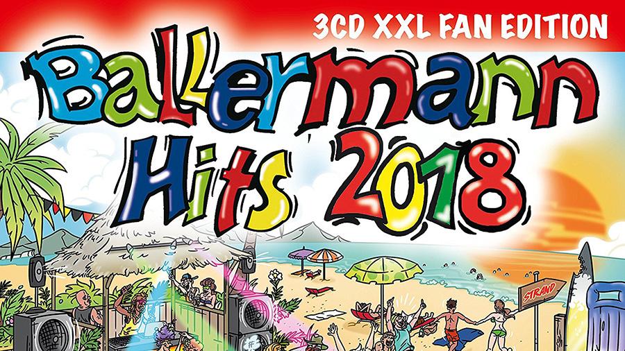 Ballermann Hits 2018 Tracklist