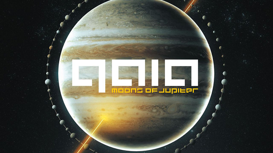GAIA - Moons of Jupiter