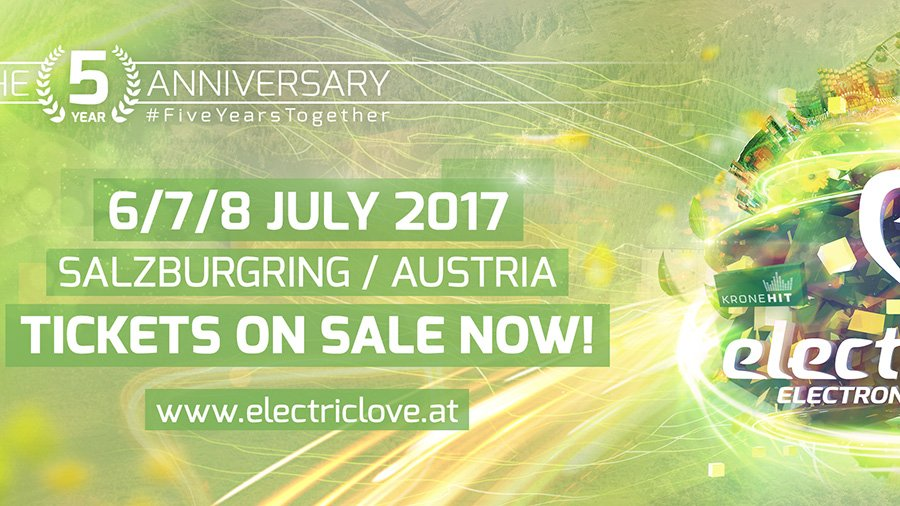 Electric Love Festival 2017 - Line Up Phase 3 + Gewinnspiel