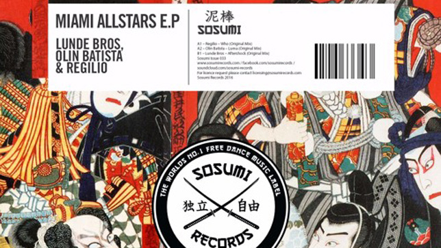 Sosumi Records: Miami Allstars E.P (Free Download)