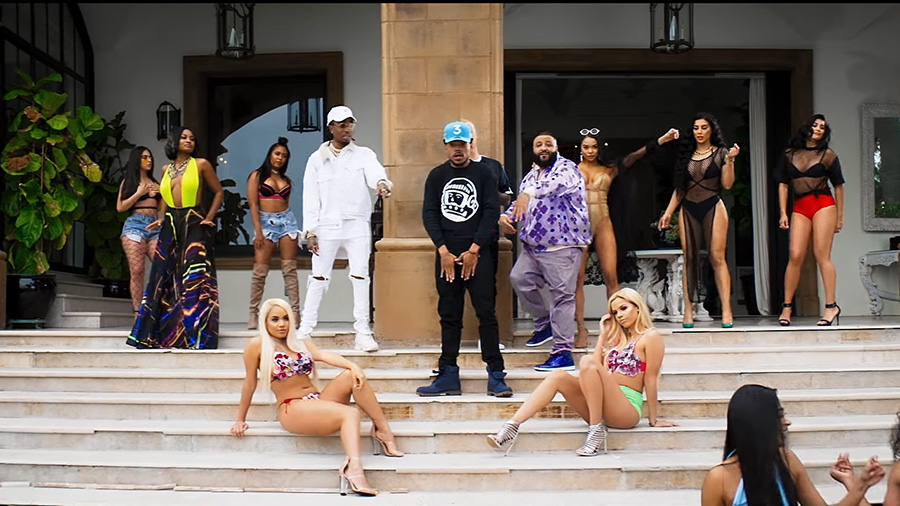 Musikvideo » DJ Khaled - I'm the One (feat. Justin Bieber, Quavo, Chance the Rapper, Lil Wayne)