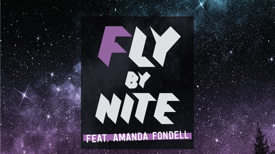 FLY BY NITE - Night People (feat. Amanda Fondell)