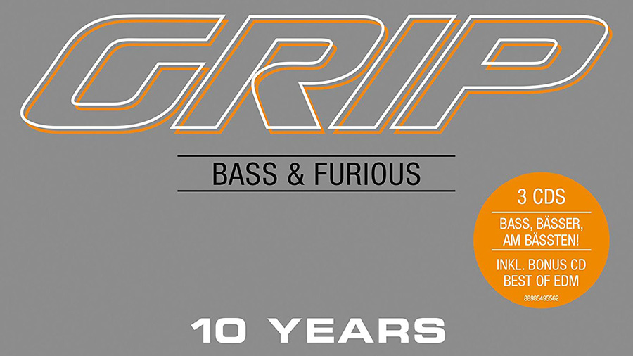 GRIP - Bass & Furious 10 YEARS » [Tracklist]