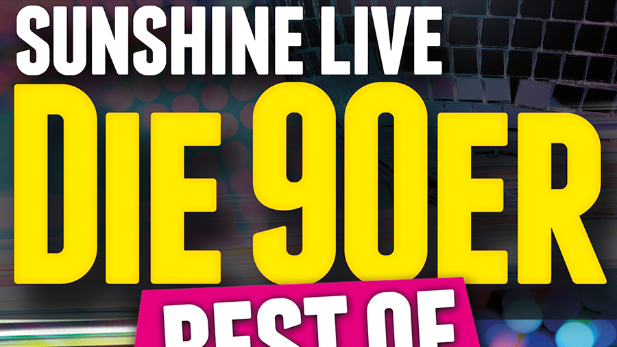 sunshine live - Die 90er best of
