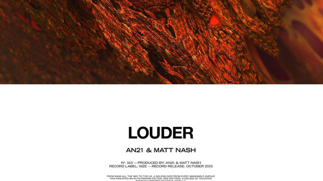 AN21 & Matt Nash - Louder