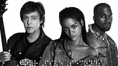 Rihanna, Kanye West, Paul McCartney - Four Five Seconds