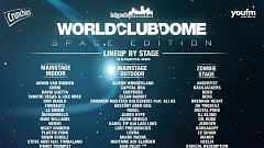 WORLD CLUB DOME 2019 » Diese Stages erwarten euch!