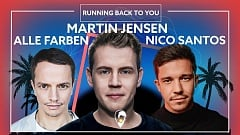 Martin Jensen, Alle Farben & Nico Santos - Running Back To You