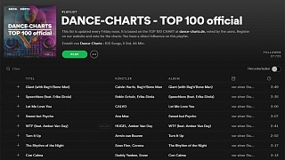 DANCE-CHARTS Top 100 vom 14. Juni 2019