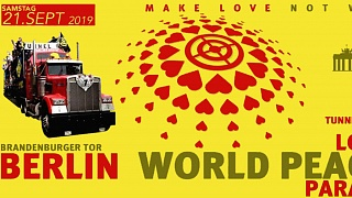 Love World Peace Parade am 21.09. in Berlin